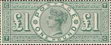 Definitive �Stamp (1891) green