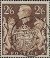 Definitives 2s6d Stamp (1939) Brown