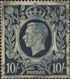 Definitives 10s Stamp (1939) Dark Blue