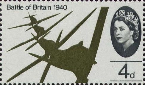 Battle of Britain Stamps Battle of Britain 4d Stamp