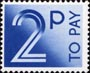 To Pay Labels 2p Stamp (1982) To Pay 2p