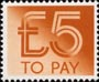 To Pay Labels �00 Stamp (1982) To Pay �00