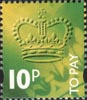 To Pay Labels 10p Stamp (1994) To Pay 10p