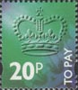 To Pay Labels 20p Stamp (1994) To Pay 20p