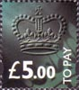 To Pay Labels �5.00 Stamp (1994) To Pay �5.00