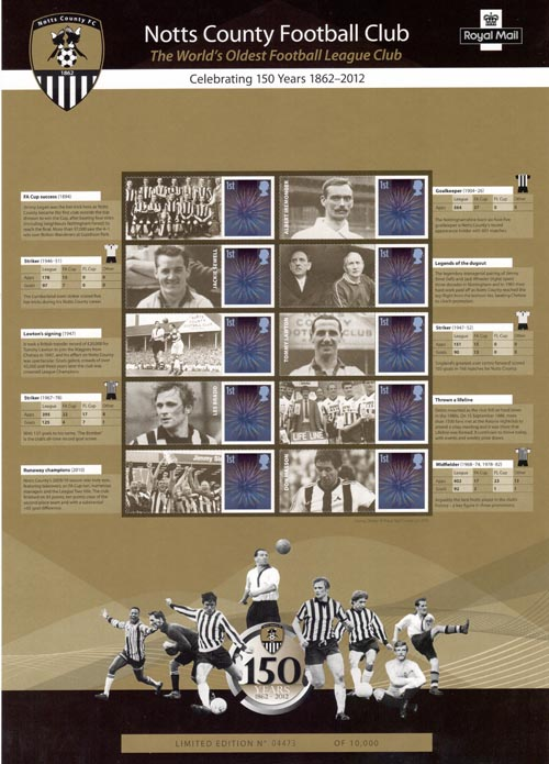 150th Anniversary of Notts County (2012)