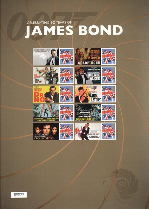 Celebrating 50 years of James Bond (2012)