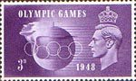 Olympic Games 3d Stamp (1948) Speed