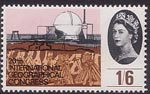 20th International Geographical Congress, London 1s6d Stamp (1964) Nuclear Reactor, Dounreay ('Technological Development')