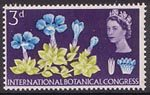 Tenth International Botanical Congress, Edinburgh 3d Stamp (1964) Spring Gentian