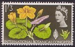 Tenth International Botanical Congress, Edinburgh 1s3d Stamp (1964) Fringed Water Lily