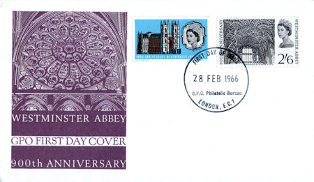 900th Anniversary of Westminster Abbey 1966