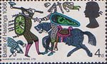 900th Anniversary of Battle of Hastings 4d Stamp (1966) Battle of Hastings