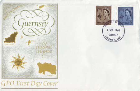 Regional Definitive - Guernsey (1968)