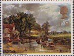 British Paintings 1s9d Stamp (1968) 'The Hay Wain' (Constable)