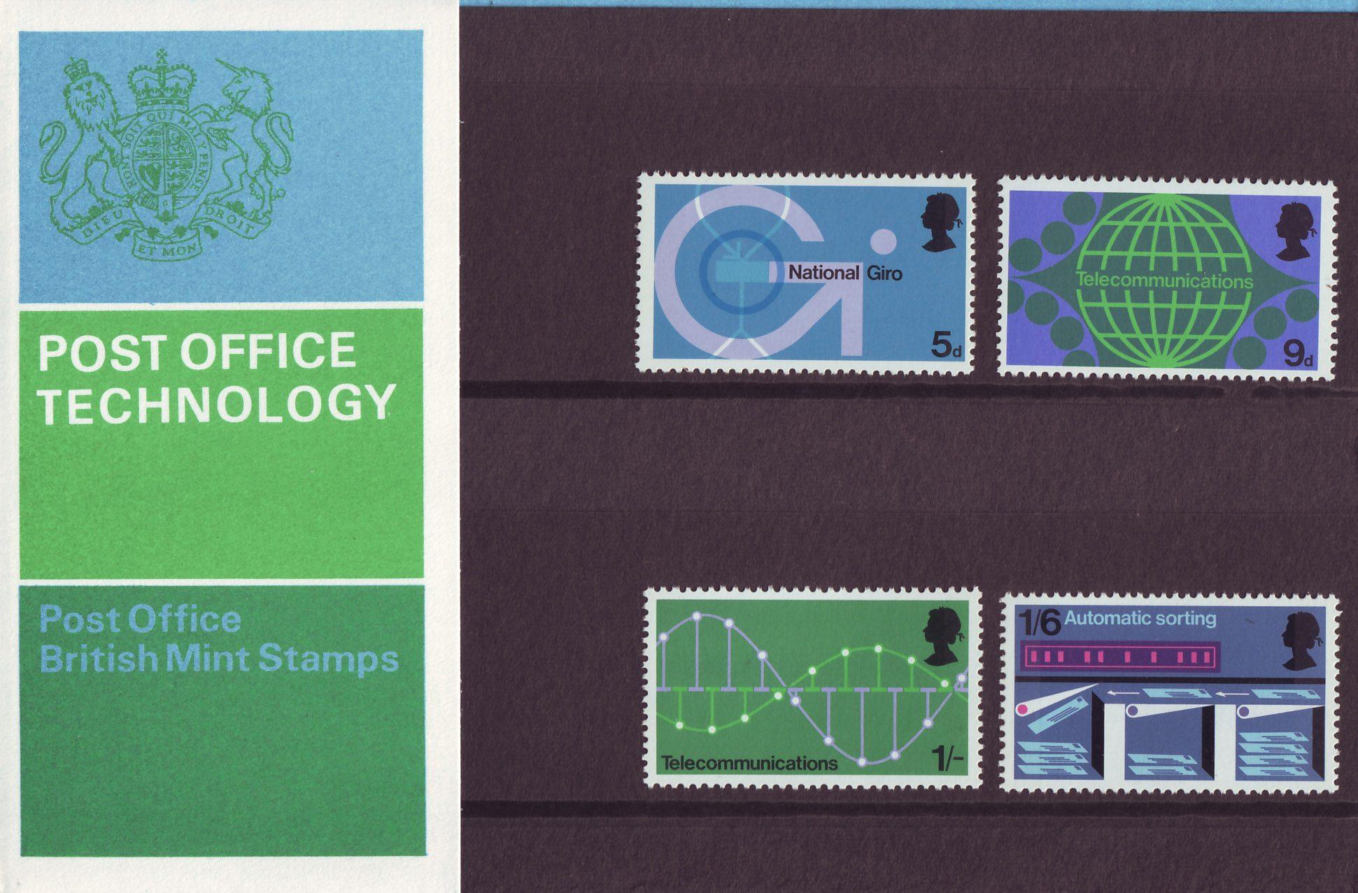British Post Office Technology 1969 Collect Gb Stamps