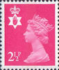 Regional Definitive - Northern Ireland 2.5p Stamp (1971) Pink