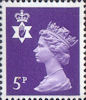 Regional Definitive - Northern Ireland 5p Stamp (1971) Purple