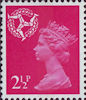 Regional Definitive - Isle of Man 2.5p Stamp (1971) Pink