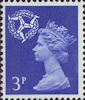 Regional Definitive - Isle of Man 3p Stamp (1971) Blue
