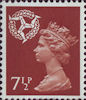 Regional Definitive - Isle of Man 7.5p Stamp (1971) Brown