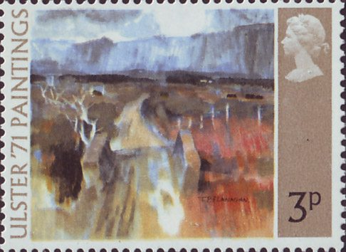 Ulster 71 Paintings 1971 Collect Gb Stamps