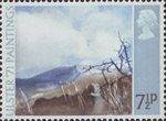 Ulster '71 Paintings 7.5p Stamp (1971) 'Deers meadow' (Tom Carr)