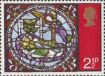 Christmas 1971 2.5p Stamp (1971) Dream of the Wise Men