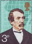 British Explorers 3p Stamp (1973) David Livingstone