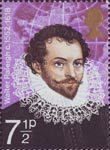 British Explorers 7.5p Stamp (1973) Sir Walter Raleigh