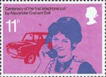 The Telephone 11p Stamp (1976) District Nurse