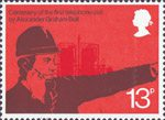 The Telephone 13p Stamp (1976) Industrialist