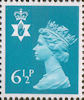 Regional Definitive - Northern Ireland 6.5p Stamp (1976) Blue
