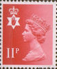 Regional Definitive - Northern Ireland 11p Stamp (1976) Scarlet