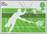Racket Sports 8.5p Stamp (1977) Lawn Tennis
