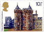 British Architecture (Historic Buildings) 10.5p Stamp (1978) Holyroodhouse