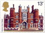 British Architecture (Historic Buildings) 13p Stamp (1978) Hampton Court Palace