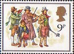 Christmas 9p Stamp (1978) The Waits