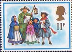 Christmas 11p Stamp (1978) 18th-Century Carol Singers
