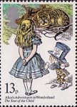 The Year of the Child 13p Stamp (1979) Alice's Adventures in Wonderland (Lewis Carroll)