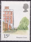 London Landmarks 15p Stamp (1980) Hampton Court