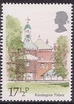 London Landmarks 17.5p Stamp (1980) Kensington Palace
