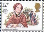 Famous Authoresses 12p Stamp (1980) Charlotte Bronte (Jane Eyre)