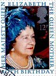 80th Birthday of Queen Elizabeth the Queen Mother 12p Stamp (1980) Queen Elizabeth the Queen Mother