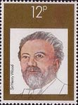 British Conductors 12p Stamp (1980) Sir Henry Wood