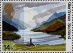 50th Anniversary of National Trust for Scotland 14p Stamp (1981) Glenfinnan, Scotland
