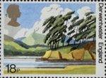 50th Anniversary of National Trust for Scotland 18p Stamp (1981) Derwentwater, England