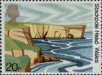 50th Anniversary of National Trust for Scotland 20p Stamp (1981) Stackpole Head, Wales