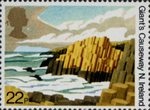50th Anniversary of National Trust for Scotland 22p Stamp (1981) Giant's Causeway, N. Ireland