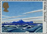 50th Anniversary of National Trust for Scotland 25p Stamp (1981) St Kilda, Scotland